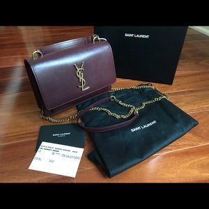 Saint Laurent Sunset Chain Wallet Crossbody bag